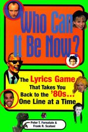 Cover of: Who can it be now?