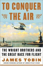 Cover of: To Conquer the Air  | James Tobin, Tobin, James
