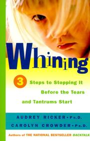 Cover of: Whining