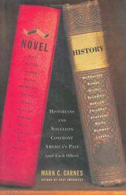 Cover of: Novel history by