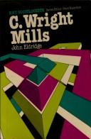 Cover of: C. Wright Mills