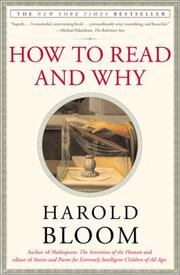 Cover of: How to read and why