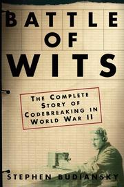 Cover of: Battle of wits