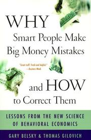 Cover of: Why Smart People Make Big Money Mistakes And How To Correct Them | Gary Belsky