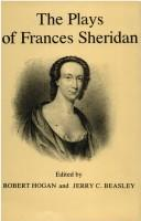 The plays of Frances Sheridan