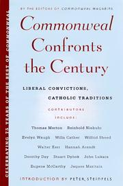 Cover of: Commonweal Confronts the Century  | Editors of commonweal mag