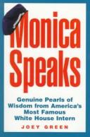 Cover of: Monica speaks