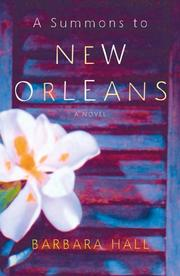 Cover of: A summons to New Orleans: a novel