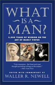 Cover of: What is a man? |