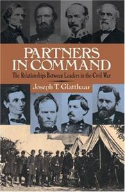 Cover of: Partners In Command | Joseph Glatthaar