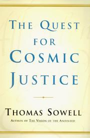 Cover of: The Quest for Cosmic Justice