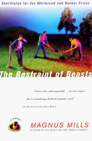 Cover of: The Restraint of Beasts