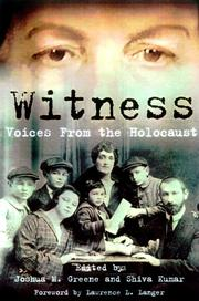 Cover of: Witness |