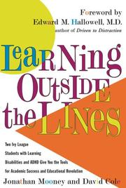 Cover of: Learning outside the lines |