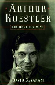 Cover of: Arthur Koestler | David Cesarani