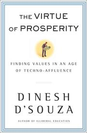 Cover of: The Virtue of Prosperity: Finding Values in an Age of Techno-Affluence