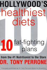 Cover of: Hollywood's Healthiest Diets