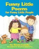 Cover of: Funny little poems for funny little people