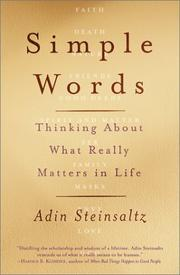 Cover of: Simple Words