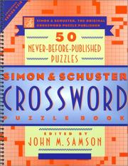 Cover of: Simon & Schuster Crossword Puzzle Book #218 |