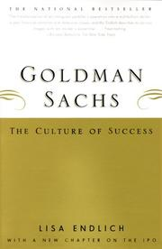 Cover of: Goldman Sachs