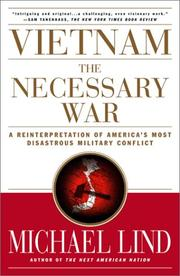 Cover of: Vietnam: The Necessary War