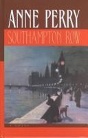 Cover of: Southampton Row | Anne Perry