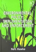 Cover of: Environmental policy | Neil Hawke