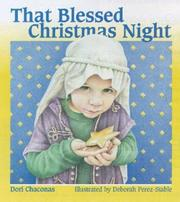 Cover of: That Blessed Christmas Night