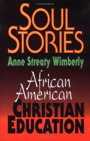 Cover of: Soul stories | Anne Streaty Wimberly