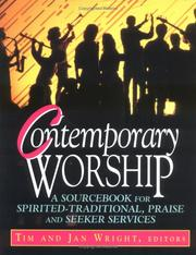 Cover of: Contemporary worship |