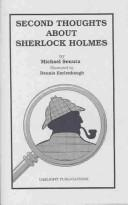 Second thoughts about Sherlock Holmes by Michael Senuta