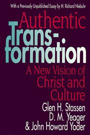 Cover of: Authentic transformation