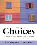 Cover of: Choices | Kate Mangelsdorf