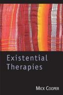 Cover of: EXISTENTIAL THERAPIES