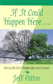 Cover of: If It Could Happen Here | Jeff Patton