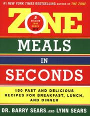 Cover of: Zone Meals in Seconds