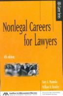 Cover of: Nonlegal careers for lawyers