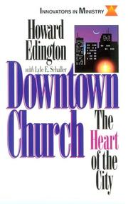 Cover of: Downtown church