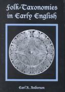 Cover of: Folk-taxonomies in early English