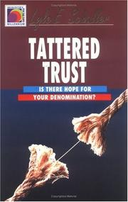 Cover of: Tattered trust | Lyle E. Schaller