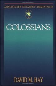 Cover of: Colossians