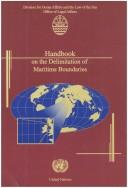 Cover of: Handbook on the delimitation of maritime boundaries |