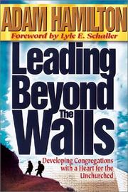 Cover of: Leading Beyond the Walls | Adam Hamilton