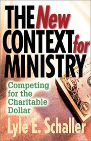 Cover of: The New Context for Ministry: The Impact of the New Economy on Your Church
