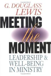 Cover of: Meeting the moment