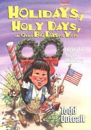 Cover of: Holidays, Holy Days, and Other Big Days for Youth | Todd Outcalt