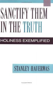 Cover of: Sanctify them in the truth