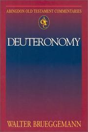 Cover of: Deuteronomy (Abingdon Old Testament Commentaries)