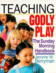 Cover of: Teaching godly play